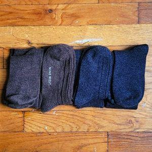 Nine West Set of 4 Knee High Socks